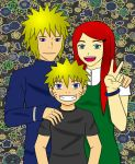Uzumaki Family by thepyroshinigami