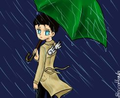 Castiel doesnt like rain by beccahanks