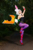 Battle Bunny Riven - Challenger Top by DISC-Photography