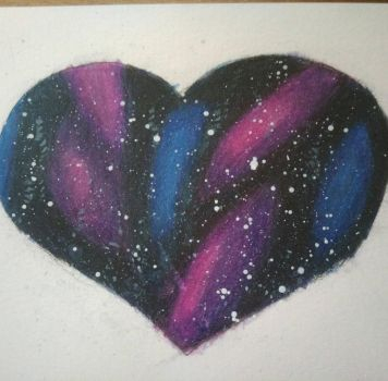 Galaxy-Heart by JuliaSelena