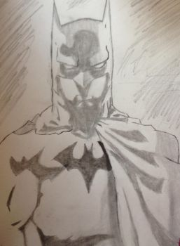 Batman smoother version  by noahdraws12