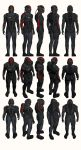 Mass Effect, Male Onyx N7 Armour Light by Troodon80