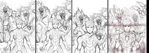 Max Steel vol.3 cover wip by ultrachicken