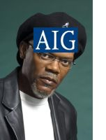 AIG on my face by c-gold1123
