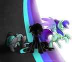 Art trade - MLP: The Three by reynaruina