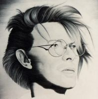 Bowie speakerwasanangel by monstarart