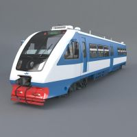 rail bus RA2 ( 3d object ) by viiik33