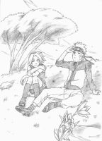 Naruto and Sakura 2 by manzr