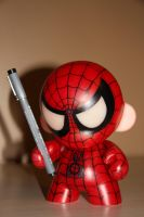 Spider Munny by MatthewDelDegan