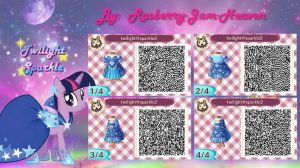 Animal Crossing QR code: Twilight Sparkle by Rasberry-Jam-Heaven