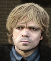 Peter Dinklage as Tyrion Lannister by MarinaSchiffer