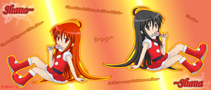 SnS -SHANA FANART 40- dedicado by Renzo-ANIME-FAN
