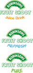 Fruit Shoot Logos by ladysilver2267