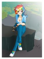 Rainbow Dash Postal by Shinta-Girl