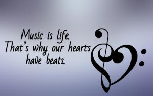 Music is Life. by Doppelmore