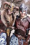 Viking couple by Feral-Workshop