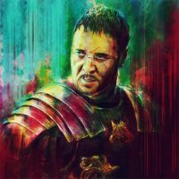 I Am Gladiator by pritthish