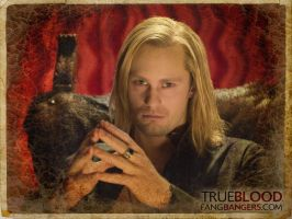 True Blood-Eric wallpaper 4 by coffeestained