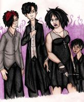 Goths by ZombieSlayerSteph