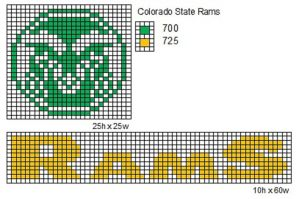 Colorado State Rams by cdbvulpix