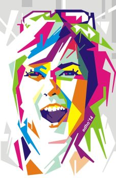 Cute Girl | WPAP EDHO by edhoartwork