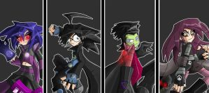 Invader Zim: Bringers of Doom by megazjess