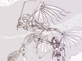 Dragoons by ruon