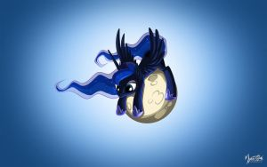 Luna's Moon 16:10 by mysticalpha