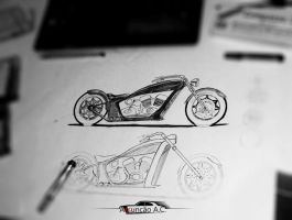 Motorcycle Handmade by Dezao92