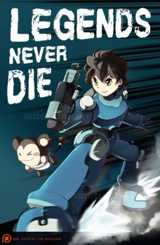 Legends Never Die by suzuran