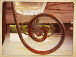 between the rusty spirals by x--photographygirl