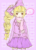 Chii from Chobits by milkiestars