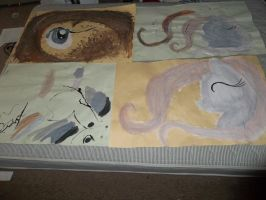 Drawing I practice, painterly final by fsujs