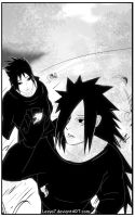 Izuna and Madara: When the leaves falling down... by Lesya7