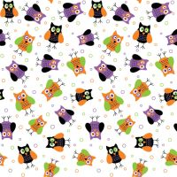 Seamless Halloween Print 7 by DonCabanza