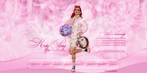 Header Katy Perry - Portfolio by DarkVisuals