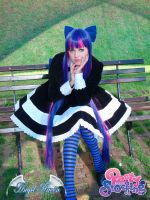 Panty Stocking Garterbelt cosplay by Angel--Arwen