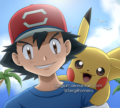 Pokemon - We are in the Alola region! by SergiART