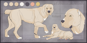 STS Dog- Renard by ShockTherapyStables