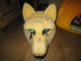 Wolf Fursuit WIP by wolfblackwing