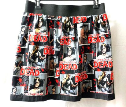 TWD fabric made into a skirt by AllisonEast