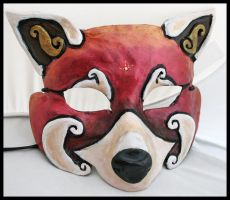 Red Panda Mask by Namingway