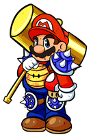 Mario as a League of legends champion by RavenLoomi