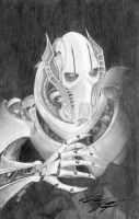 Star Wars - General Grievous Original Sketch by DenaeFrazierStudios