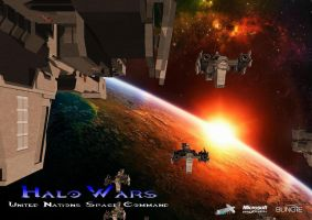 Halo Wars II UNSC by Jamezzz92