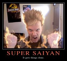 Super Saiyan by MichaelMayne
