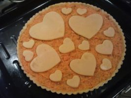 pumkin pie not cooked yet by snaplilly
