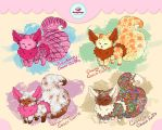 [OPEN 2/4 - ONLY 3$] Special Auction CookyDogs by Yoshimiko-Adopts