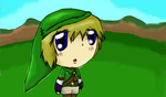 Link - in hyrule field by SongMina