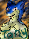 Tony the Typhlosion Badge by Eternalskyy by Shaprite91